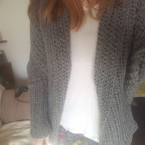 Crochet Grey sweater